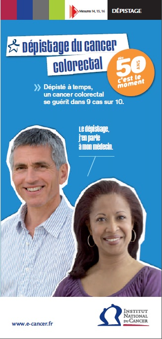 Flyer dépistage du cancer colorectal