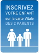 inscription enfant vitale deux parents