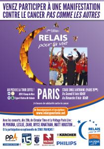 Flyer Relais pour la vie_2e edition, relais pour la vie
