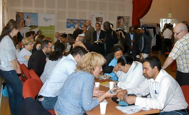 Forum d'information sur le diabète dans la salle de conférence de la Cramif, le 20 juin 2013 © Pierre Cassagne_Cpam Paris