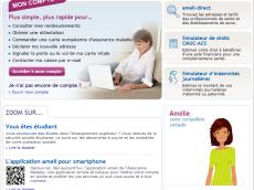 ameli.fr, site ameli