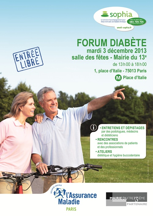 Forum diabète 3 décembre 2013