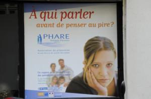 Phare_affiche, risque suicidaire