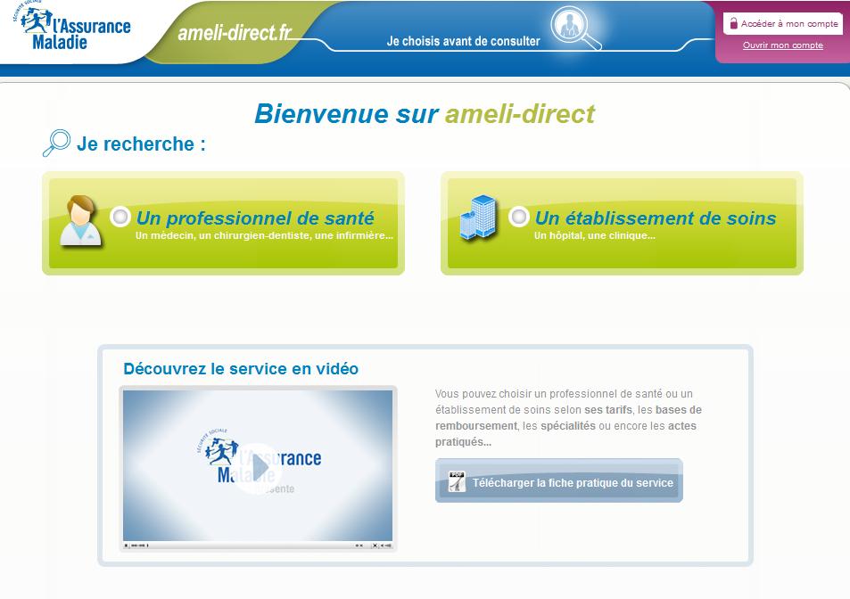 ameli-direct