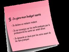 budget santé
