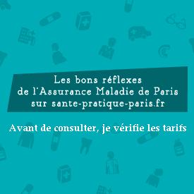 Avant de consulter je vérifie les tarifs sur l annuaire santé d ameli    santé pratique Paris b72de6c77db5