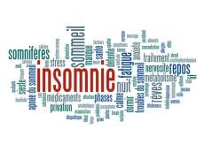 """Nuage de Tags """"INSOMNIE"""" (dépression sommeil fatigue somnifère"""