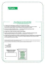 formulaire pour carte vitale Conception carte électronique cours
