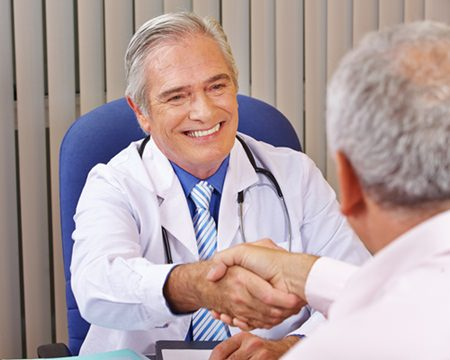 Médecin et son patient