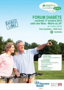 Sophia2, forum sur le diabète