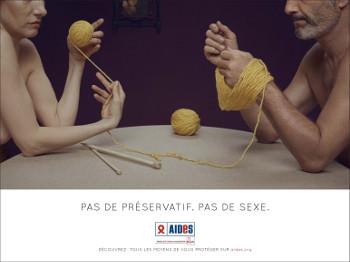 NoSex Pelotte(Quadra) 350, contre le sida, AIDES