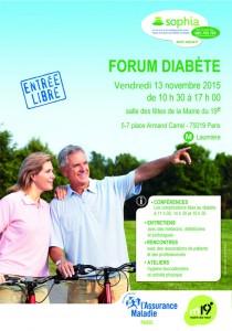 Forum diabète 13nov2015