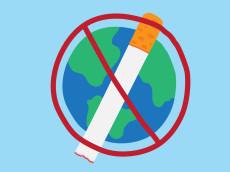 world no tobacco day 31 may, vector illustration