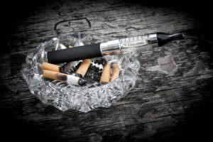 Cigarette ou E-cigarette