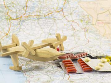 délivrance de médicaments, départ à l'étranger
