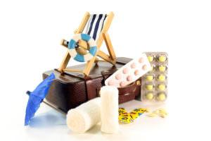 départ à l'étranger, délivrance de médicaments