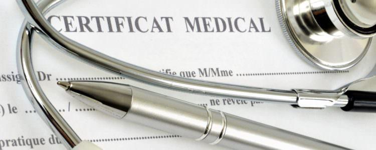 certificat médical, santé