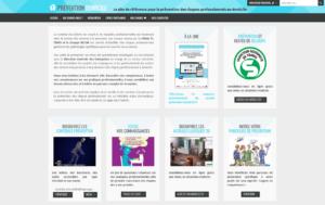 prévention-domicile.fr, home page