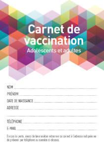 carnet vaccination, vaccins