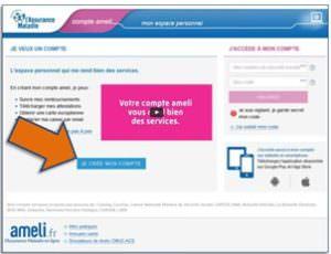 compte ameli, services en ligne, ouvrir son compte ameli