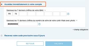 numero de serie carte vitale Ouvrir son compte ameli pour accéder aux services en ligne de l