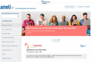 ameli, forum pour les assurés