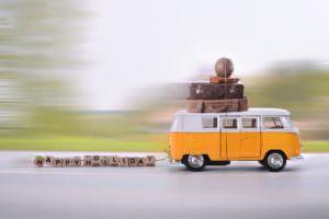 route des vacances, voyage