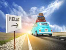 route des vacances, voyage, relax