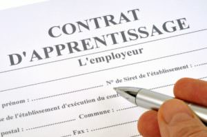 alternants, apprentis, contrat