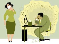 grippe, travail, prévention