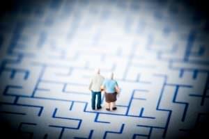personne de confiance, seniors, labyrinthe
