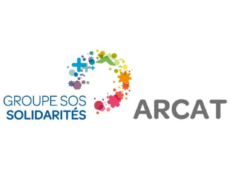 logo Arcat Groupe SOS Solidarités